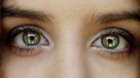 zielone kobiece oczy